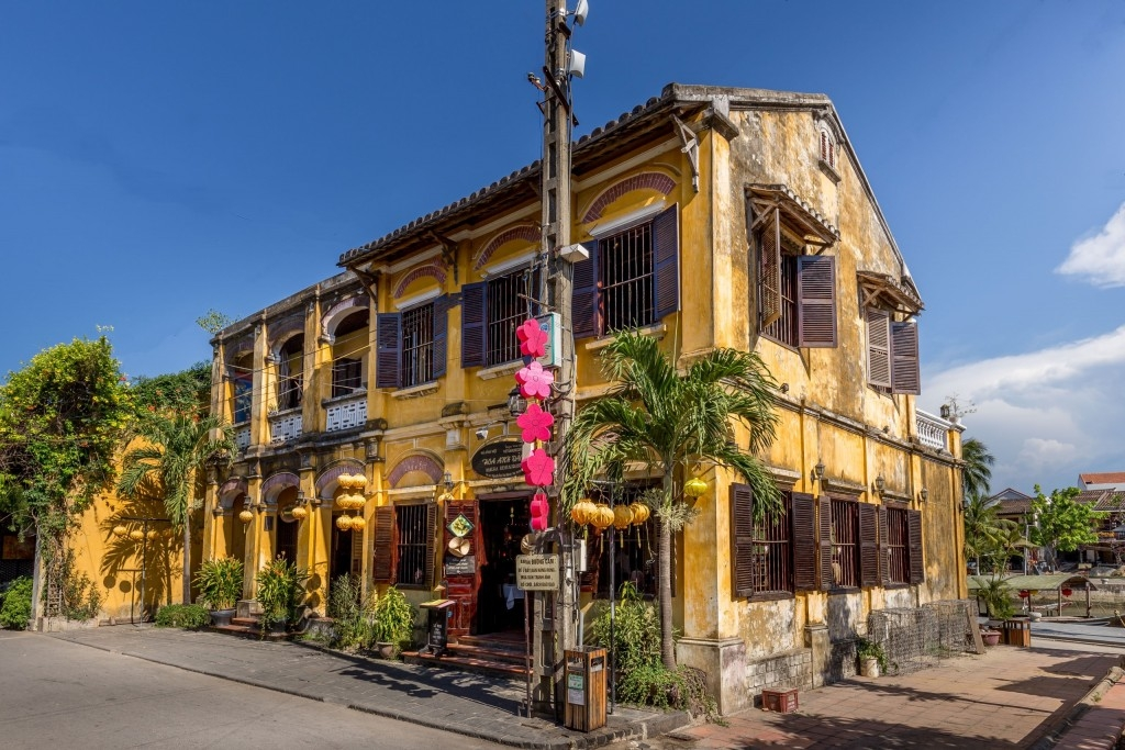 Hoi An Old Town Hoi An, VIETNAM - A day exploring the old town of Hoi An; a UNESCO site ...