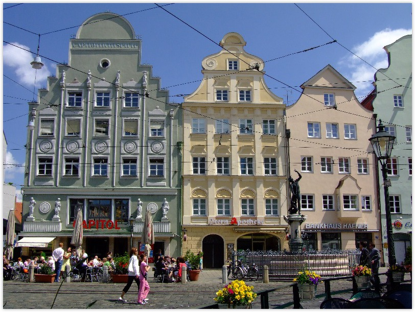 Schaezlerpalais The Romantic Road, AUGSBURG (GERMANY): The city of Augsburg is known for its historic ...