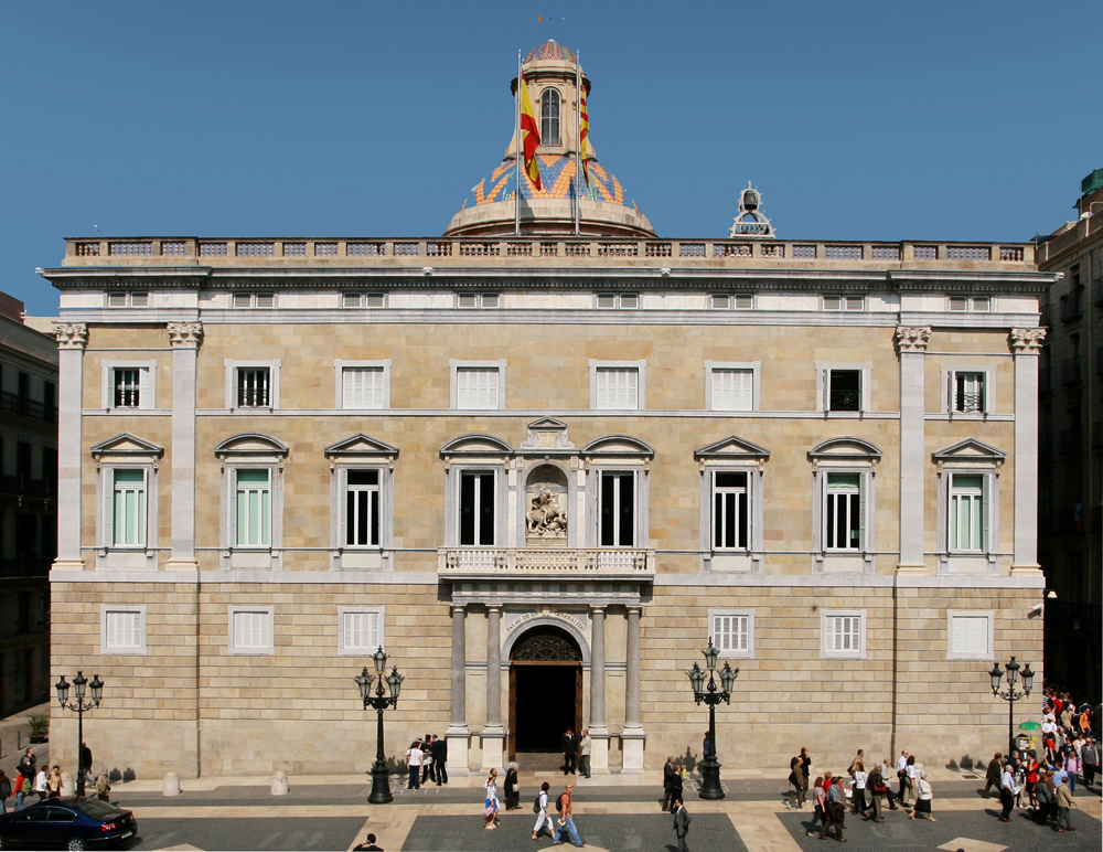 Hotel España Barcelona, Closing Report on the 2014 Budget for the Government of Catalonia ...