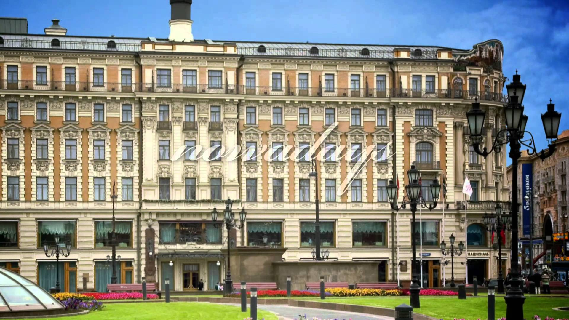 Hotel National Moscow, Hotel National, Moscow: A Luxury Collection Hotel - YouTube