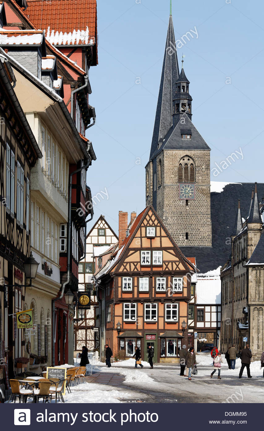 Torgau Historic Town Center Saxony, Saxony-Anhalt and Thuringia, German House Frame House Covered Stock Photos & German House Frame ...