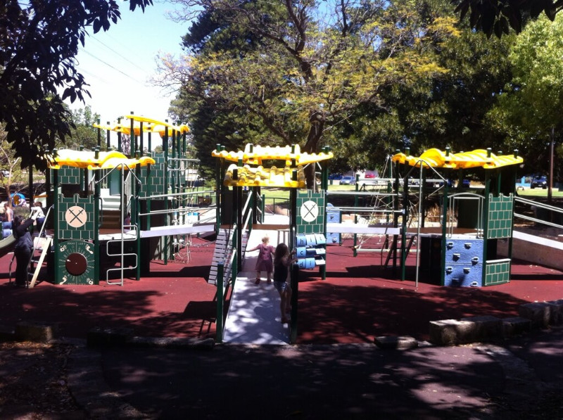 Hyde Park Perth, Hyde Park Playground, North Perth the ultimate review by Buggybuddys