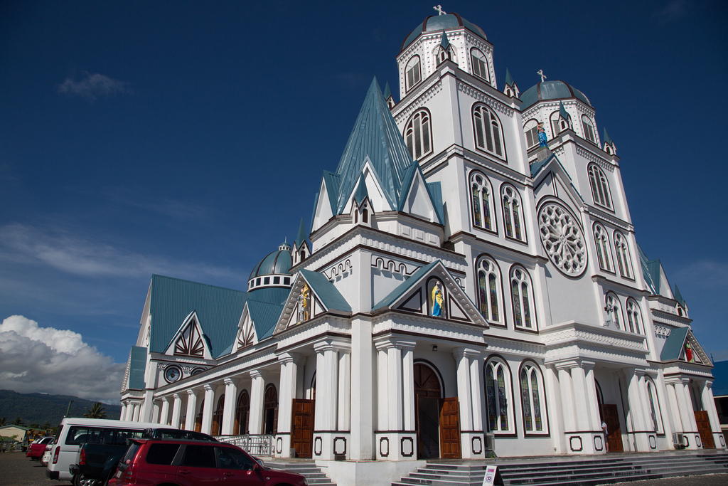 Immaculate Conception Cathedral Apia, Flickr photos tagged poarcadia   Picssr