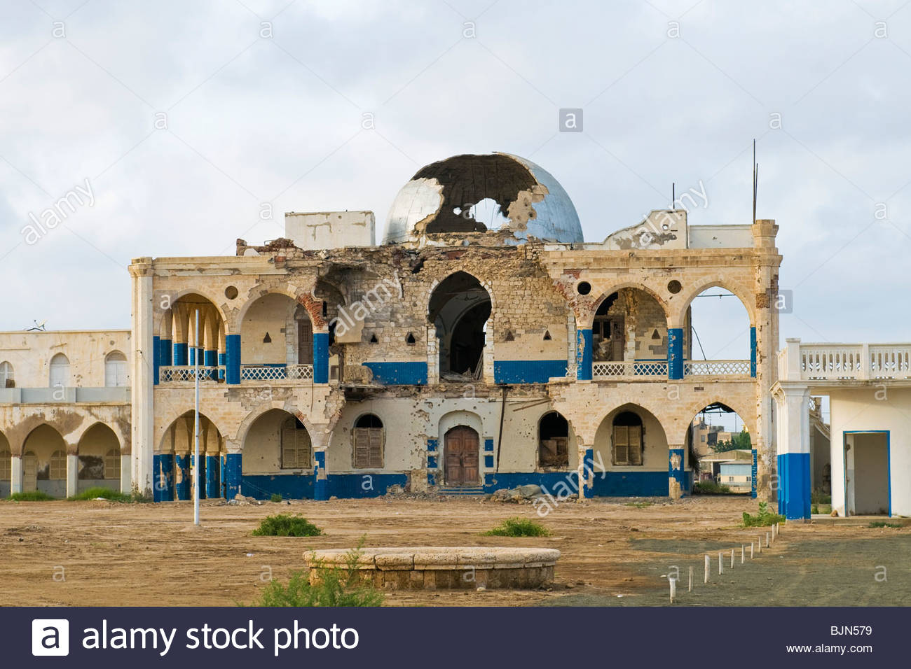 Imperial Palace Massawa, Imperial palace, Massawa, Eritrea Stock Photo, Royalty Free Image ...