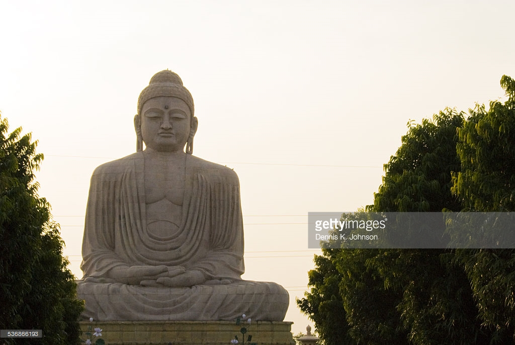 Indosan Nipponji Temple Bodhgaya, Buddha Indosan Nippon Temple Bodhgaya India Stock Photo | Getty Images