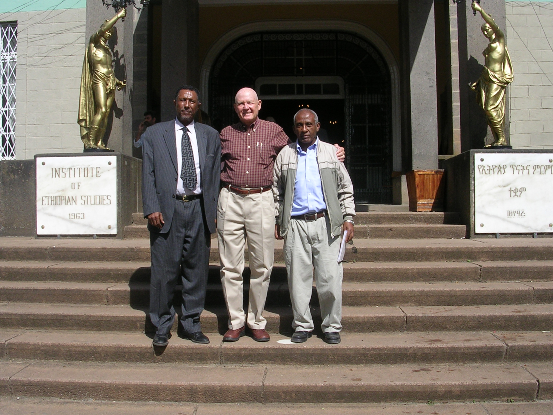 Institute of Ethiopian Studies Addis Ababa, Addis Ababa Homecoming – Entwined Lives: Reflections of a Returned ...