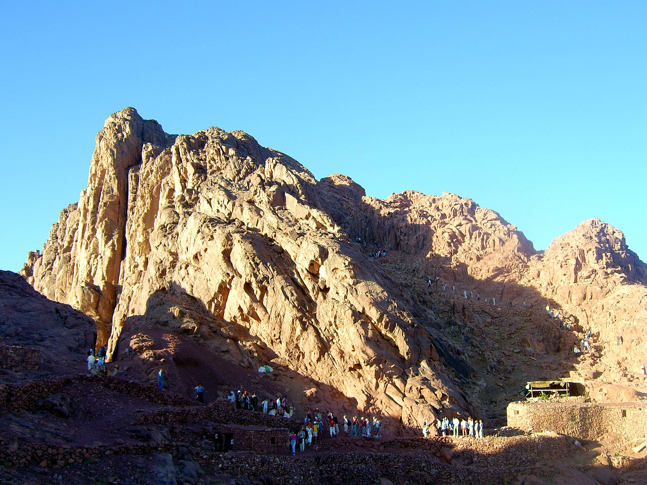 Jabal Moussa (Mt. Sinai) The Sinai Peninsula and Red Sea Coast, Also known as Mount Horeb, the traditional location is a peak in ...