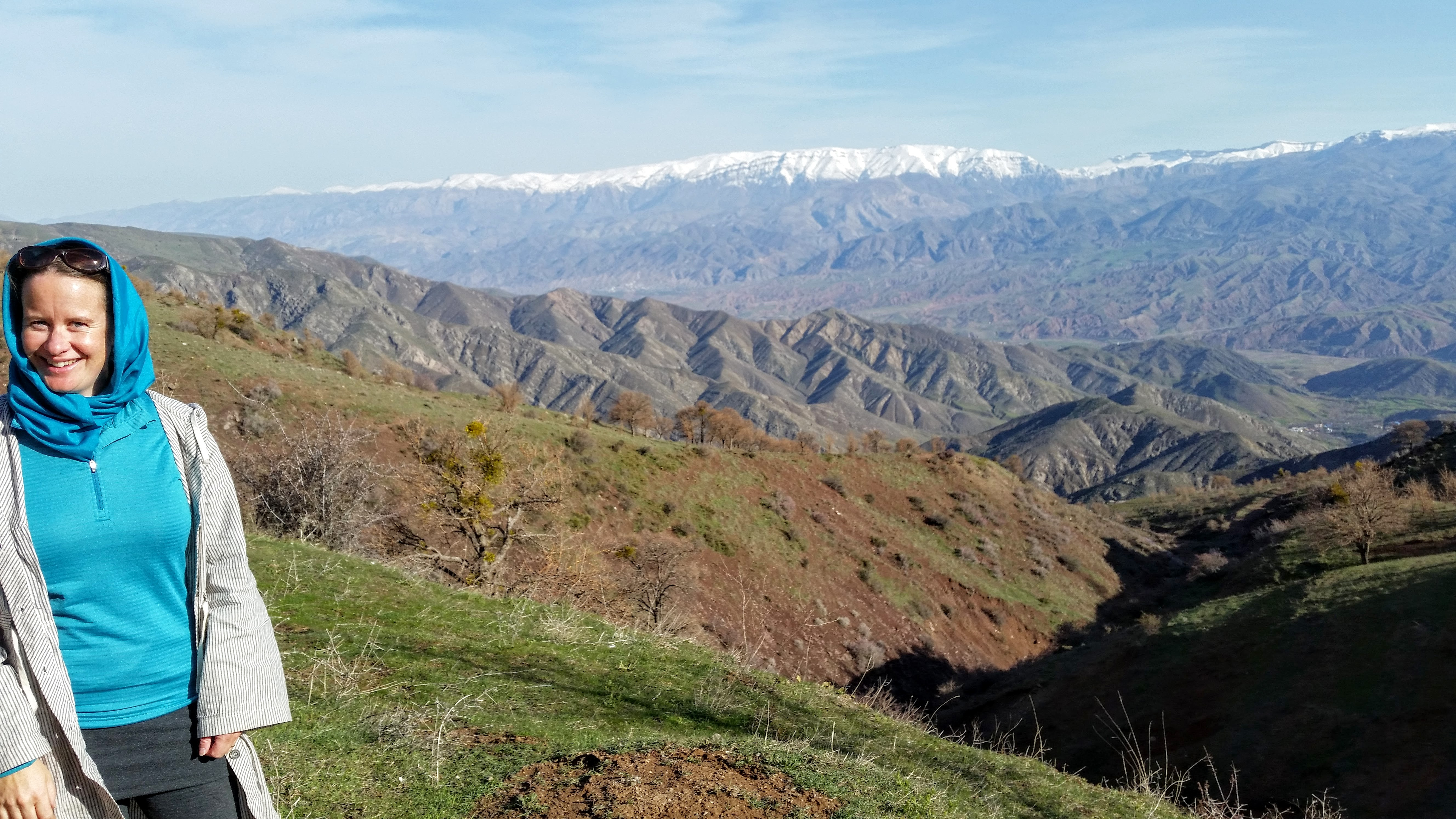 Javer Castle Aras River Valley, Alamut Valley & the Castle of the Assassins   KiwiOutThere
