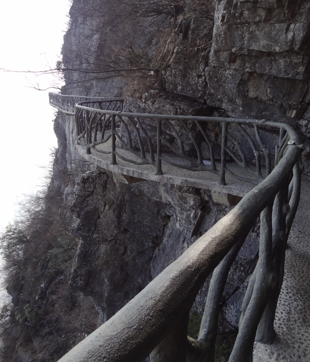 Jiēyǐn Monastery Éméi Shān, Tianmen_Mountain in #Hunan, #China http://directrooms.com/china ...