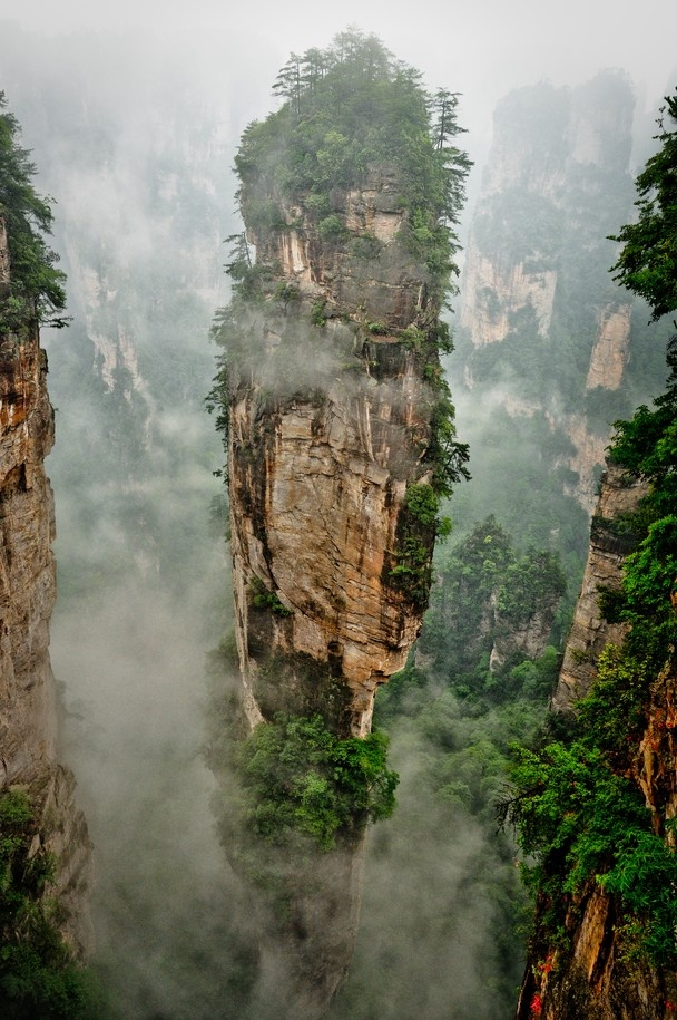 Jiēyǐn Monastery Éméi Shān, 37 best China, Mountains images on Pinterest | Landscapes ...