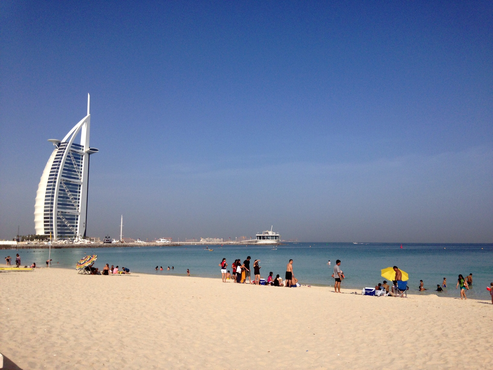 Jumeirah Open Beach Dubai, Perfect time for the beach!