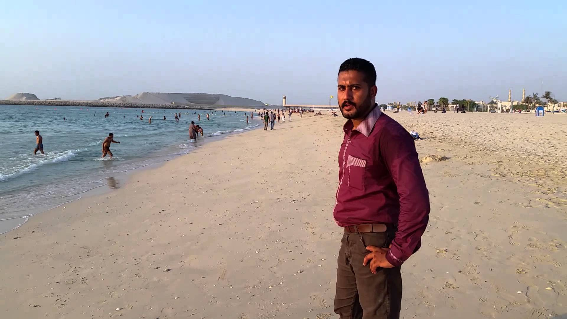 Jumeirah Open Beach Dubai, Jumeirah Public Beach, Dubai Asif Ahmed - YouTube