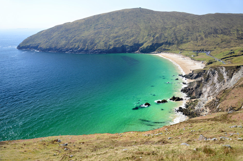 Keem Bay Beach Achill Island, Achill Island and Keem Bay - The most beautiful and least known ...