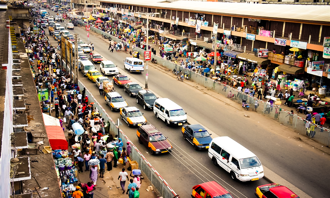 Kejetia Market Kumasi, The Captivating City of Kumasi, Ghana :