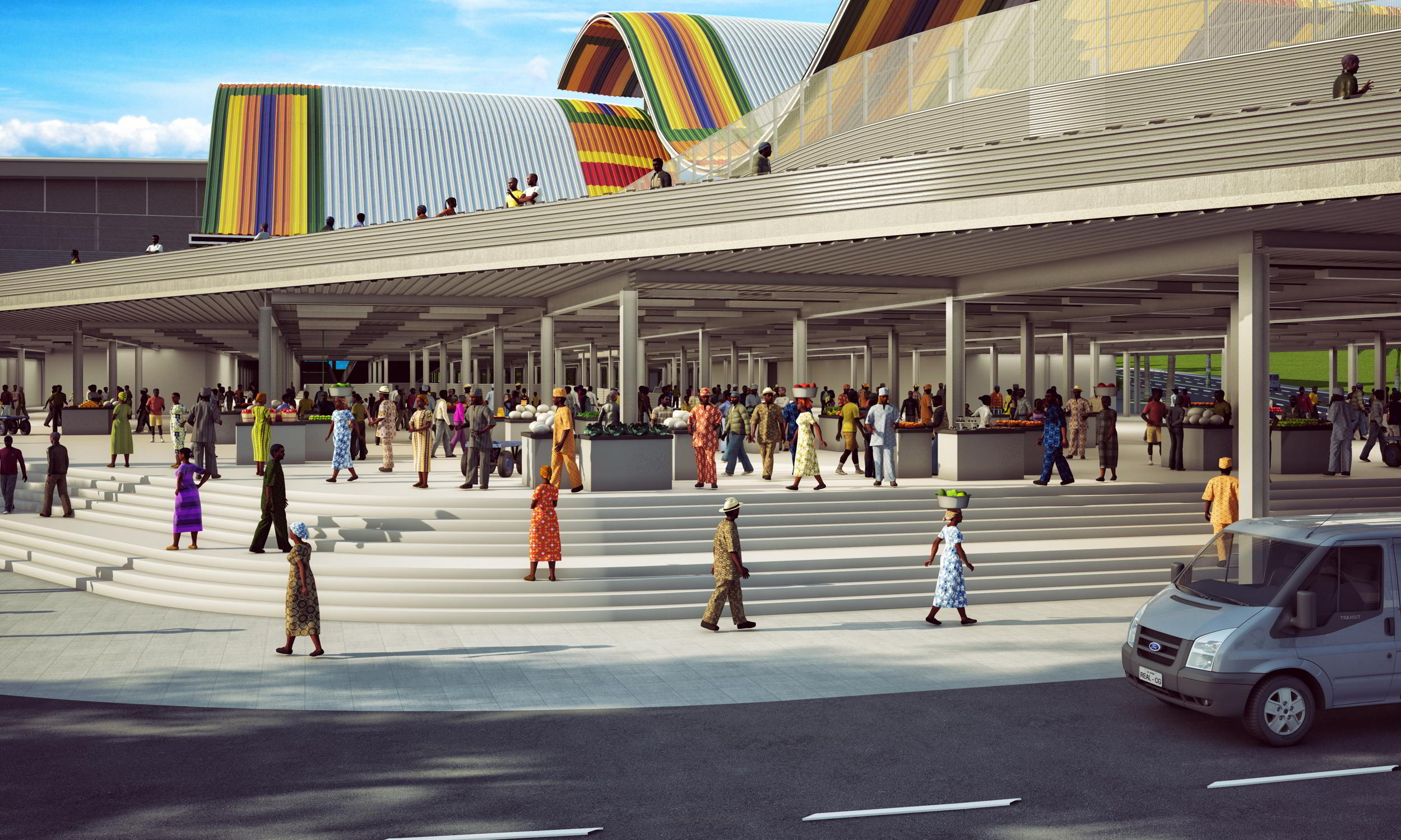 Kejetia Market Kumasi, This Is How Kumasi Central Market Would Look In A Few Years