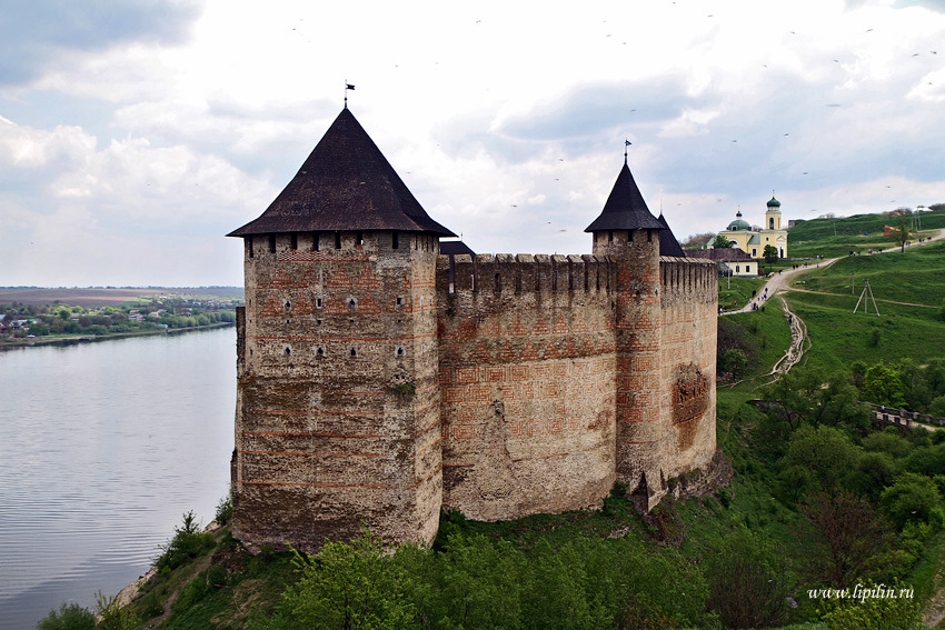 Khotyn Fortress The Carpathians, Ukraine travel blog