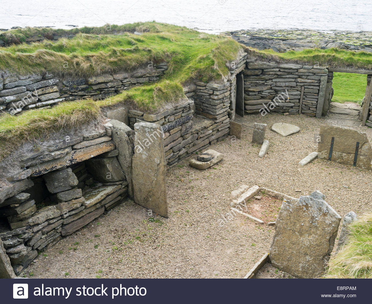 Knap of Howar Papa Westray, Knap of Howar, a Neolithic settlement on Papa Westray, the ...
