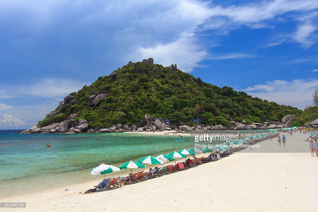Koh Nang Yuan The Gulf Coast Beaches, Ko Nang Yuan Island Koh Tao Koh Samui Thailand Stock Photo | Getty ...