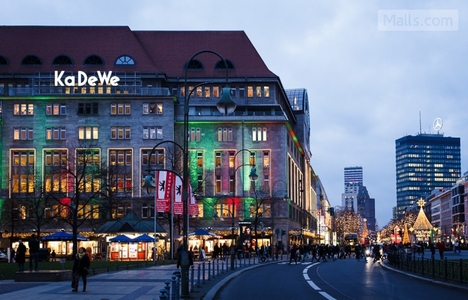 Kurfürstendamm Berlin, Kurfürstendamm (KaDeWe) - mall in Berlin, Germany - Malls.Com