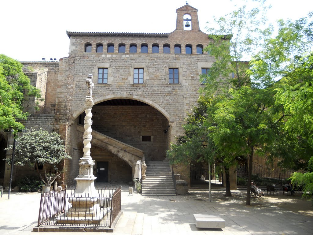 La Boqueria Barcelona, Panoramio - Photo of Barcelona: antic Hospital de Sant Pau i la ...