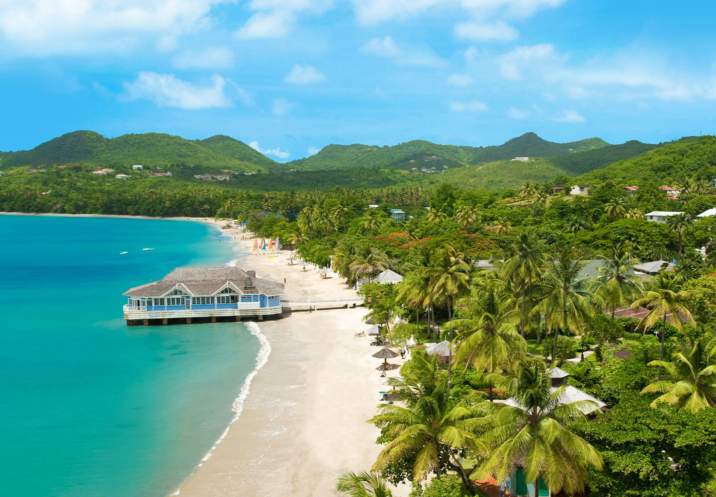 Labrellotte Bay Around Castries, St. Lucia Weddings | All Inclusive Packages | Traveloni Weddings