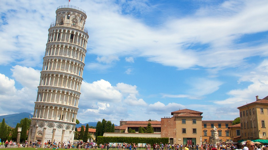 Leaning Tower Pisa, The Leaning Tower of Pisa - ThingLink