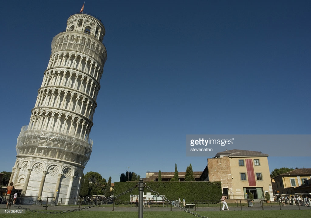 Leaning Tower Pisa, Leaning Tower Of Pisa Stock Photos and Pictures | Getty Images