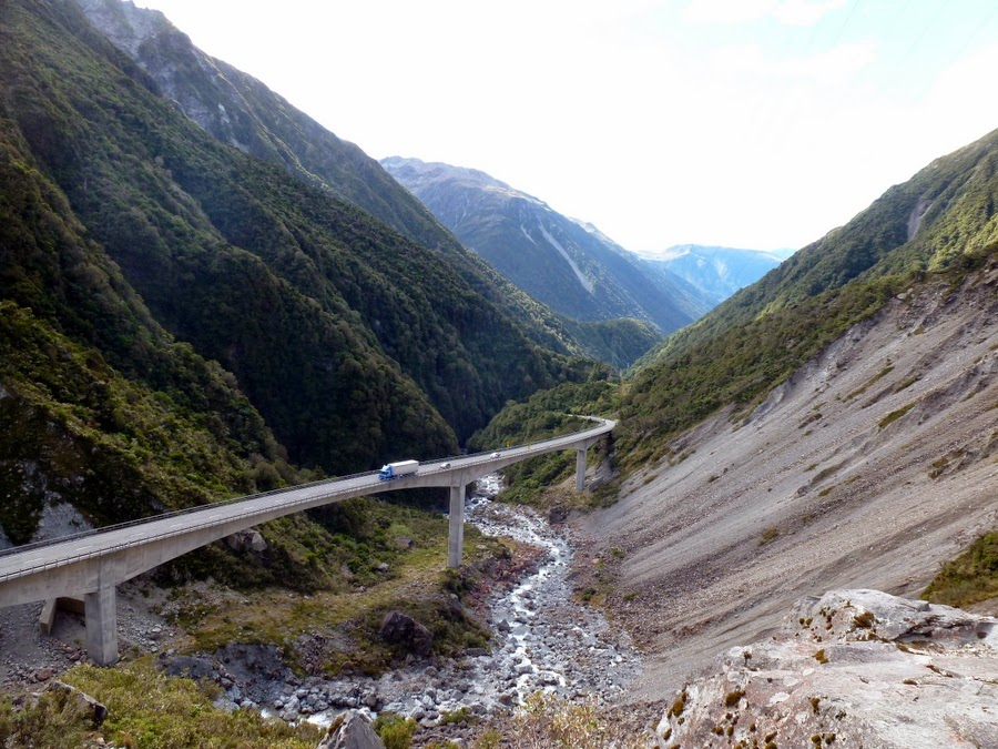 Arthur's Pass National Park Arthur's Pass, Cycle Touring in New Zealand : South Island Cycle Touring