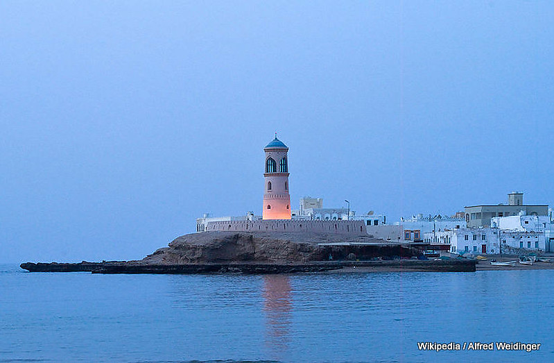 Lighthouse Sur, Oman - Gulf of Oman / Ras Ayqah / Sur Lighthouse - World of ...