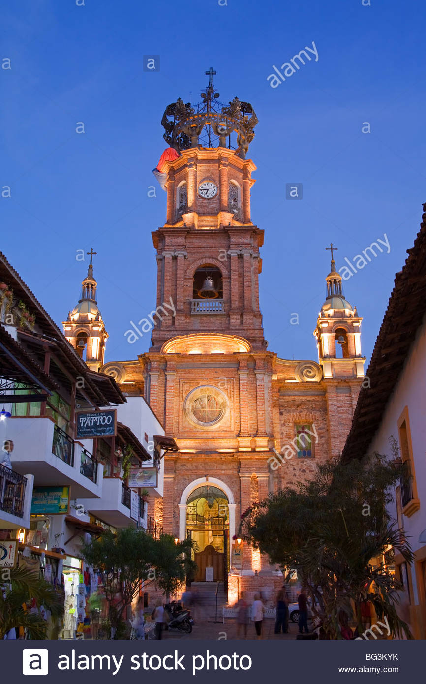 Lo de Marcos Puerto Vallarta, Cathedral of Our Lady of Guadalupe, Puerto Vallarta, Jalisco State ...