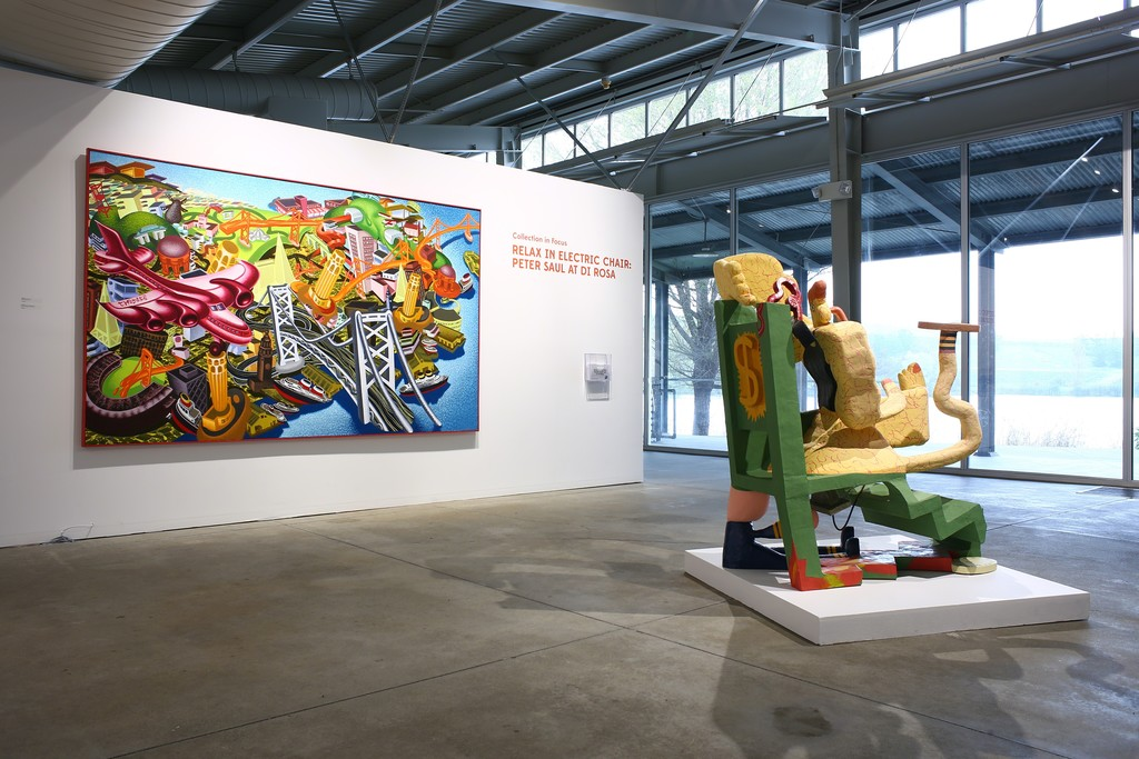 Long Meadow Ranch Napa Valley, Relax in Electric Chair: Peter Saul at di Rosa | di Rosa | Artsy