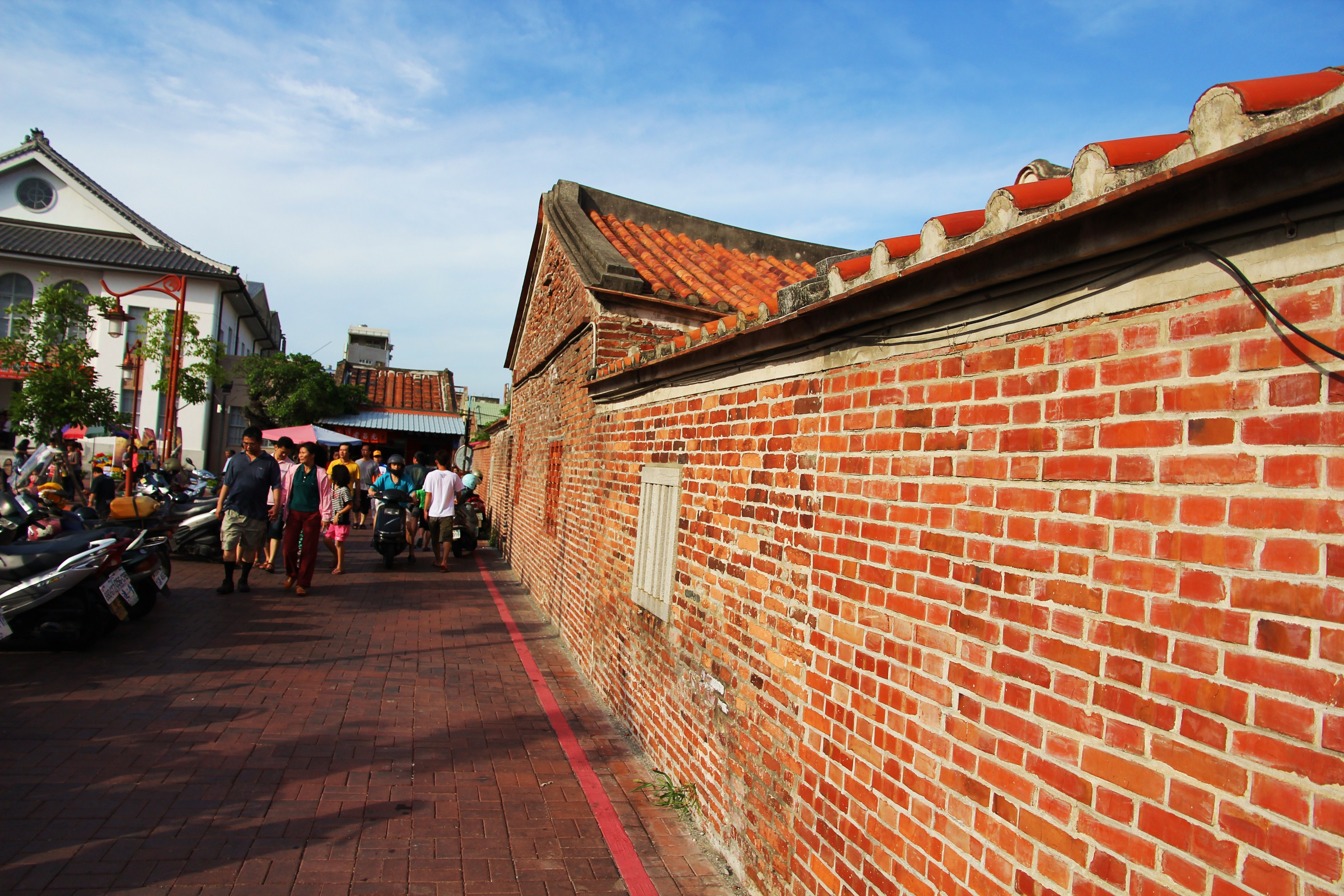 Lukang Old Street Lukang, Sunrise at Alishan, Unplanned Lugang Old Street, ended up in ...