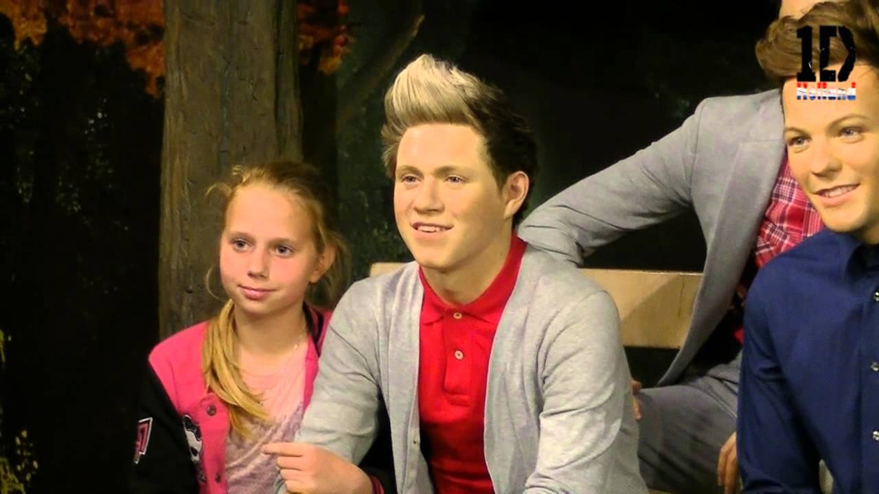 Madame Tussauds Amsterdam Amsterdam, One Direction Holland - Opening waxen figures at Madame Tussauds ...