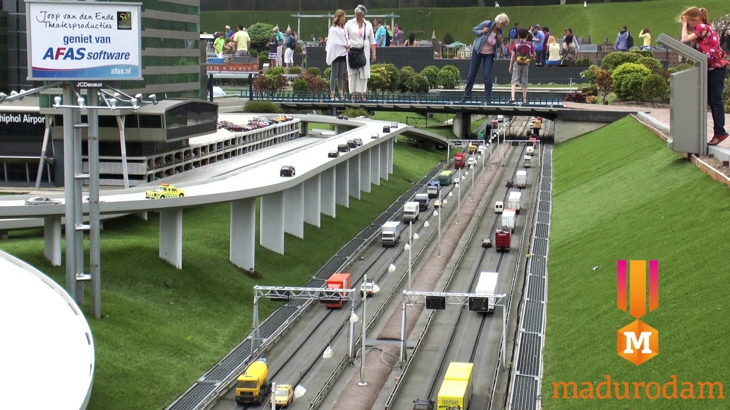 Madurodam The Hague, Madurodam, Miniature City, The Hague - YouTube