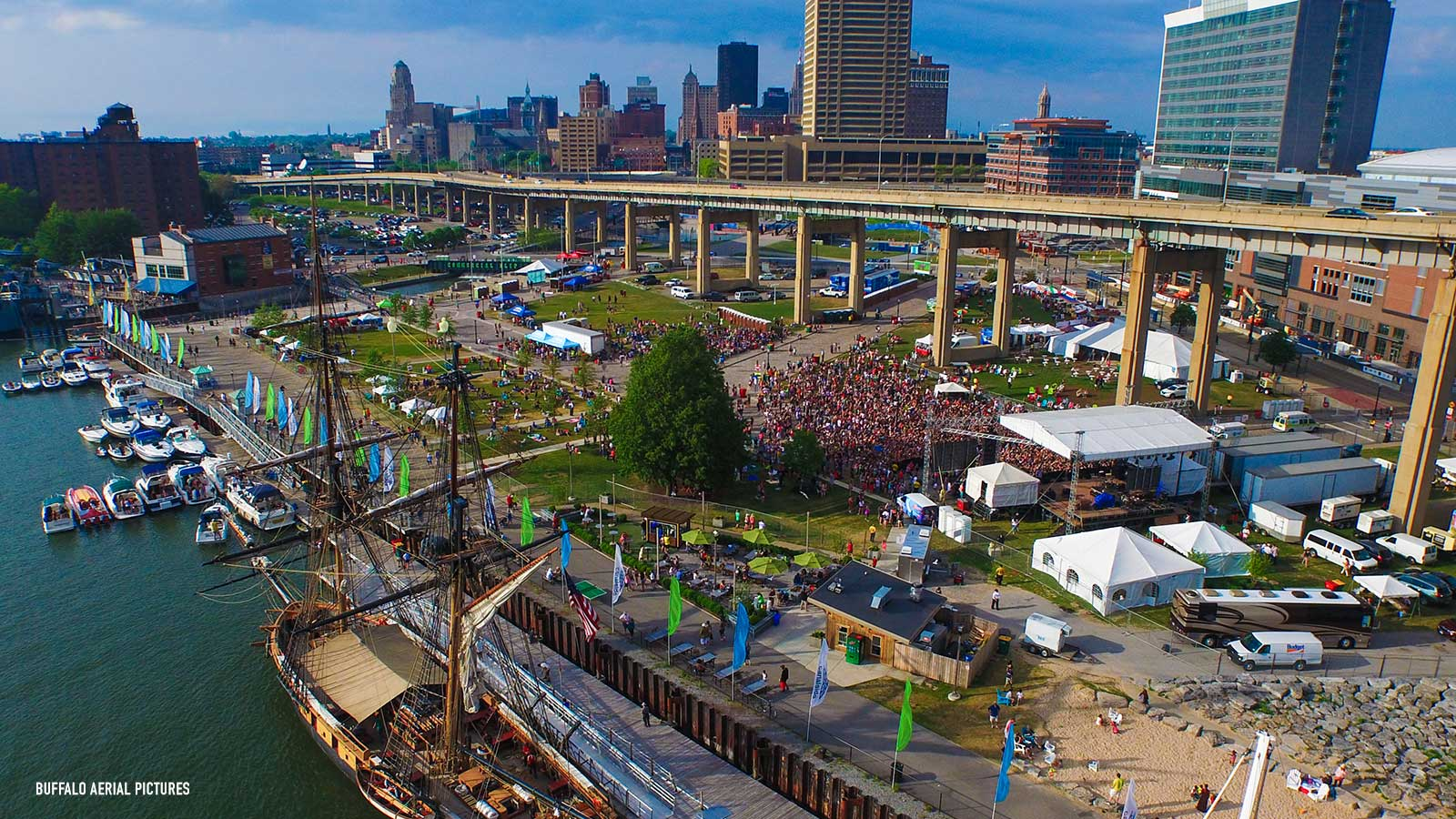 Magic Hat Brewery Burlington, Higgins Welcomes ECHDC Plans for Build-Out of Canalside | WNYmedia ...