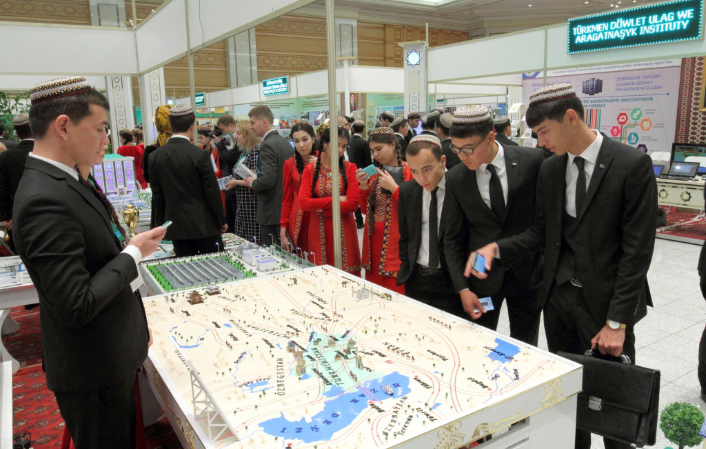 Magtymguly State University Ashgabat, Ashgabat showcases achievements and global trends in education and ...