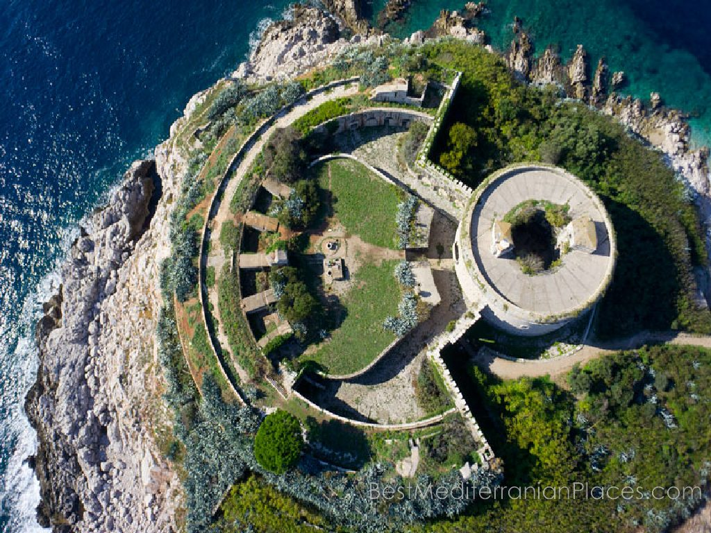 Mamula Around Herceg Novi, Castles - The best places for a holiday on the Mediterranean