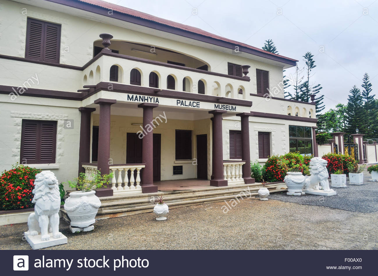 Manhyia Palace Museum Kumasi, Manhyia Palace Museum, formerly a British colonial building, then ...