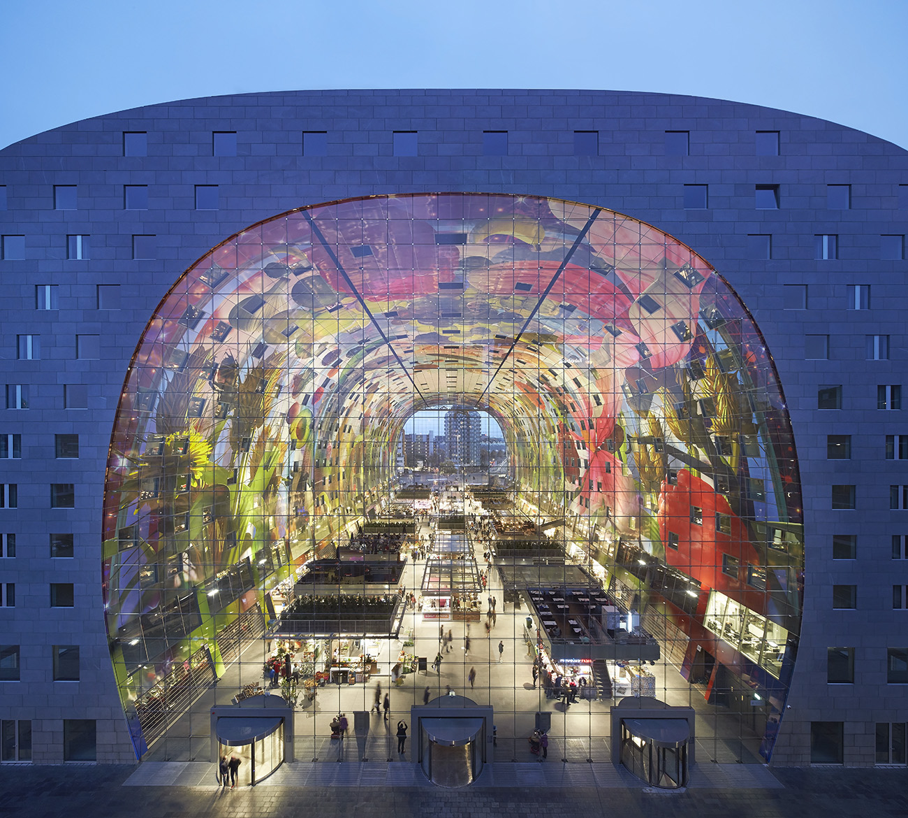 Markthal Rotterdam, Hufton + Crow | Projects | Markthal Rotterdam