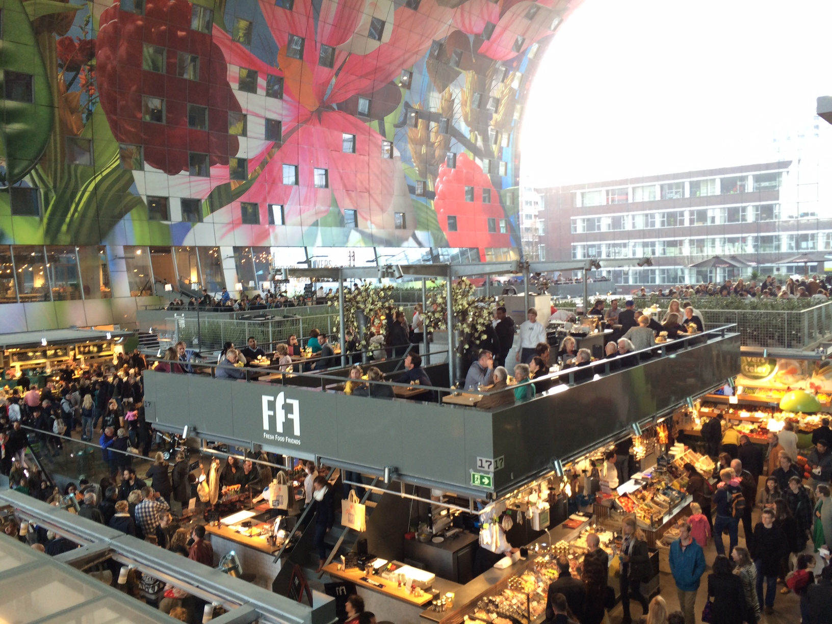 Markthal Rotterdam, Markthal Rotterdam: a child-friendly food court | Expedition ...