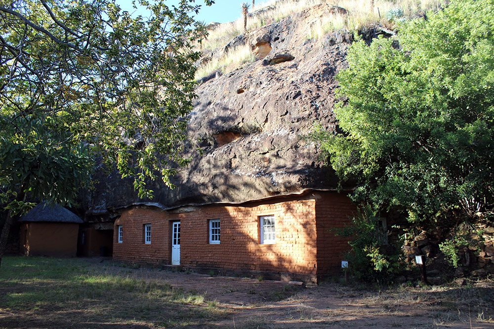 Masitise Cave House Museum Quthing, VisitLesotho.Travel - Masitise Cave House