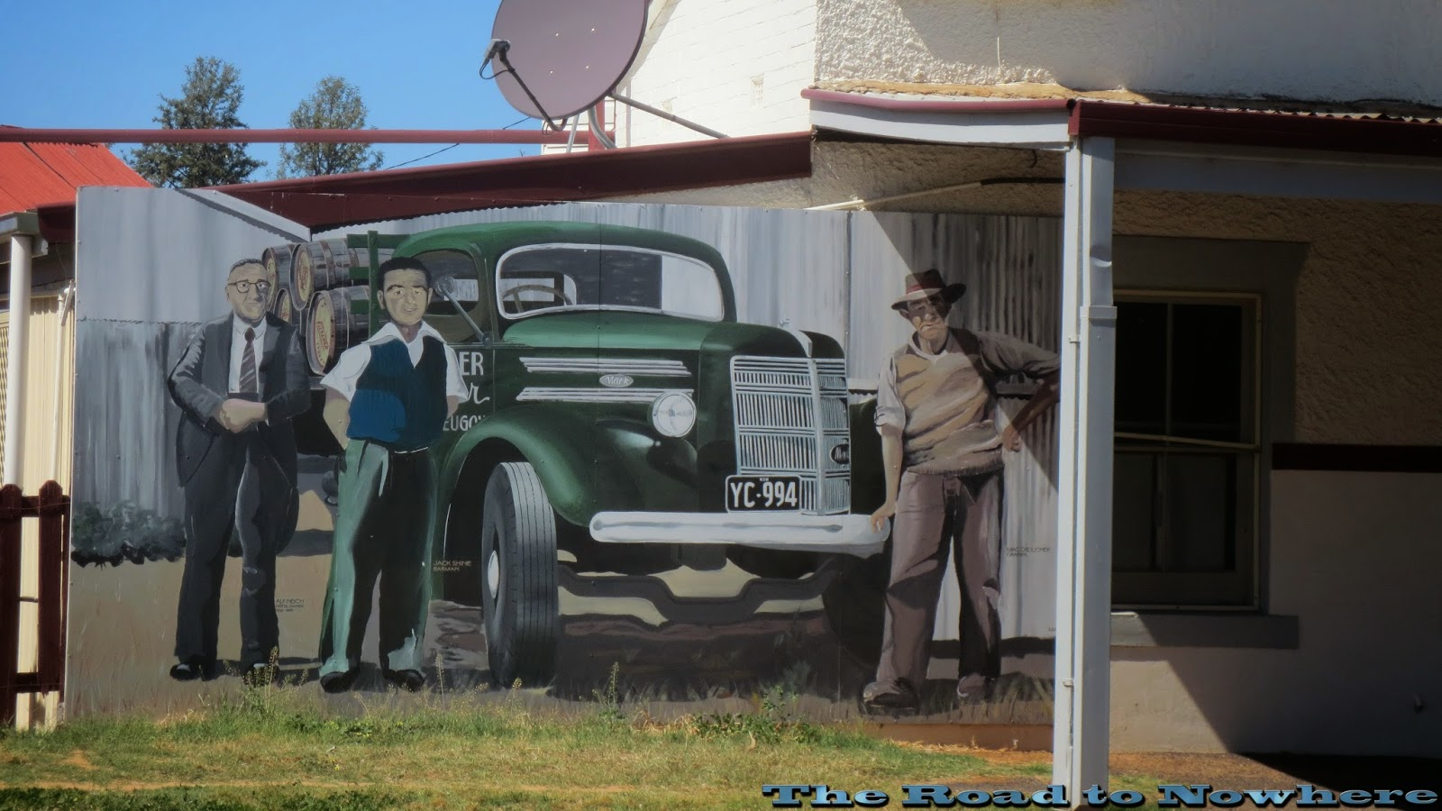 McFeeters Motor Museum Forbes, Road to Nowhere: October 2014