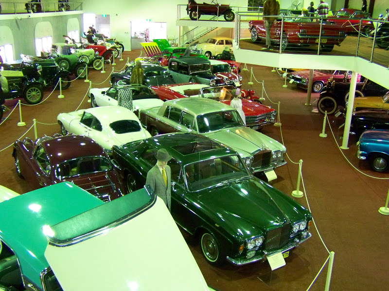 McFeeters Motor Museum Forbes, Australia here we come!