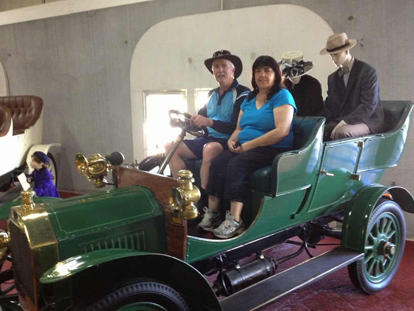 McFeeters Motor Museum Forbes, Heading to Forbes | Chris and Dianne's Ultima adventure