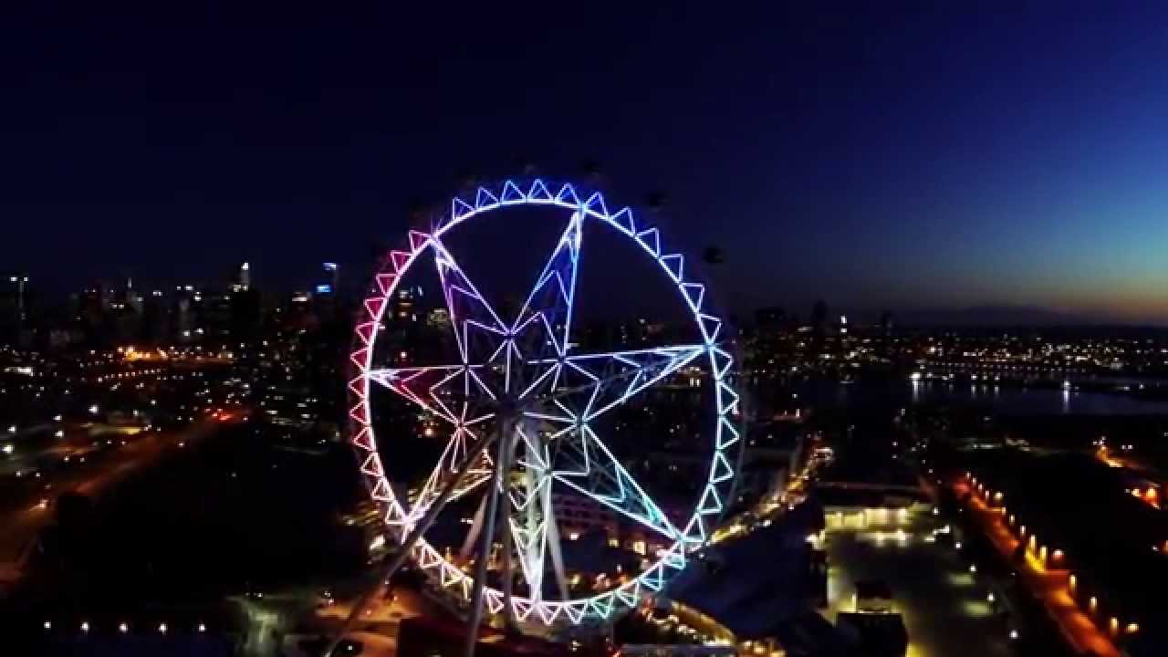 Melbourne Star Melbourne, Melbourne Star - From Above - YouTube