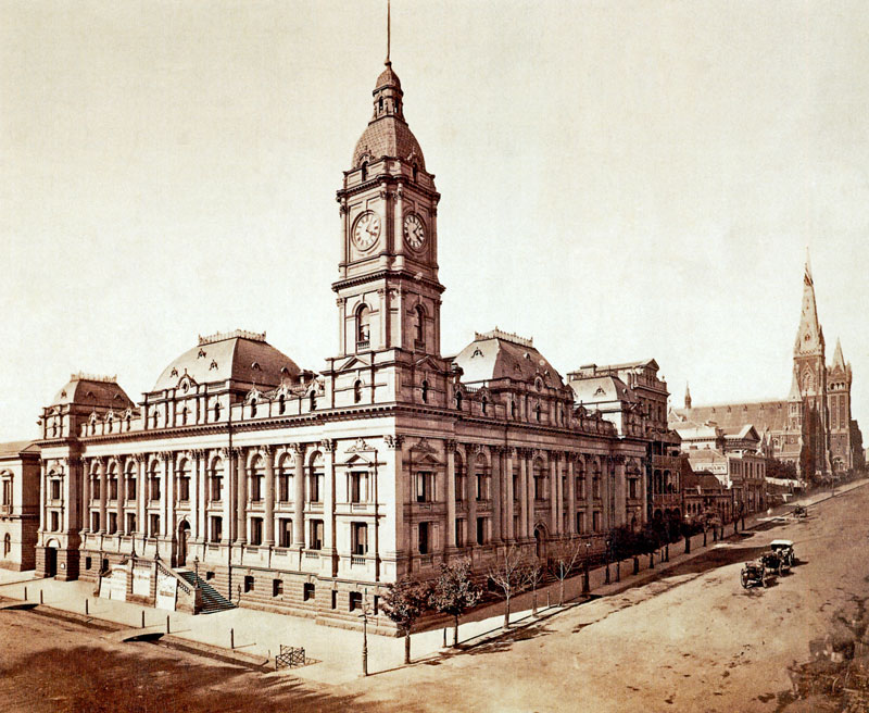 Melbourne Town Hall Melbourne, Melbourne Town Hall : Buildings and Architecture - Melbourne ...