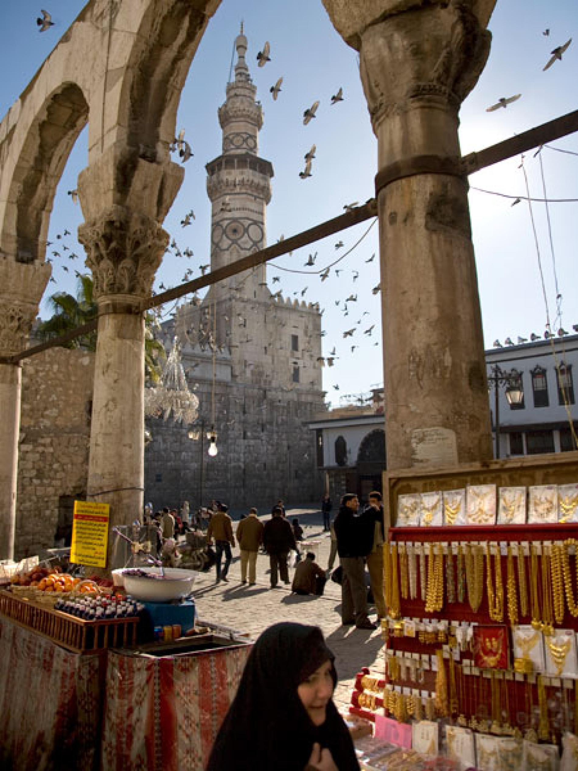 Middle Market The Ancient City, Ancient City of Damascus -- World Heritage Site -- National Geographic