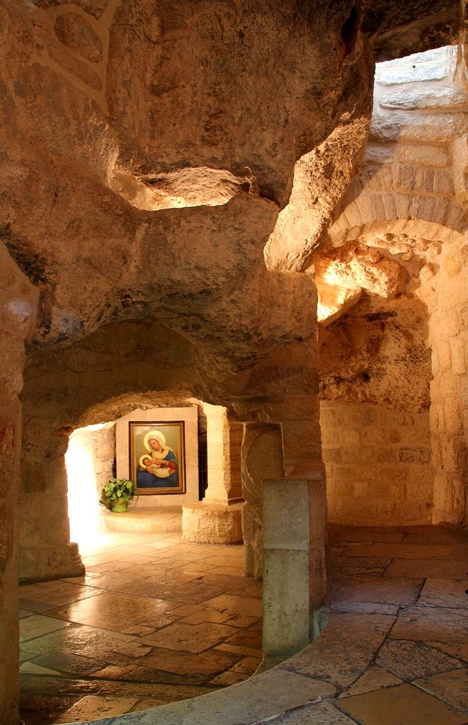 Milk Grotto Around Jerusalem and the Dead Sea, 2429 best Land of Israel images on Pinterest   Holy land ...
