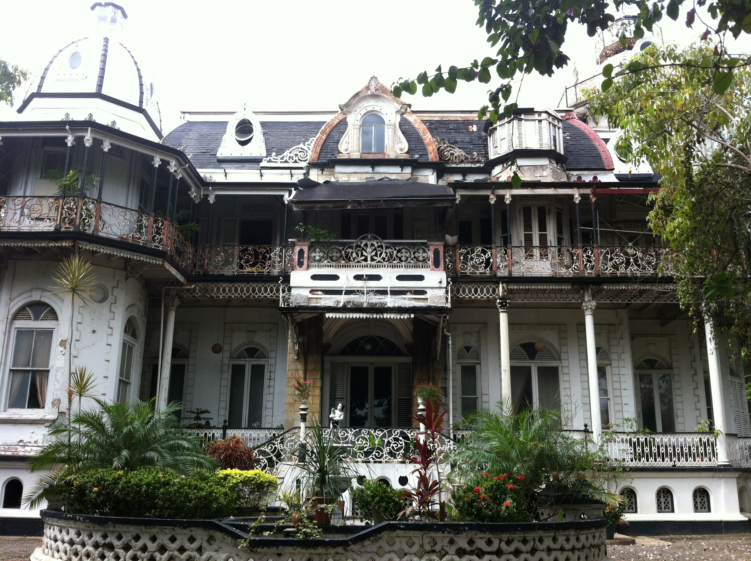 Mille Fleurs Port of Spain, Breathtaking Architecture: The Magnificent Seven In Port of Spain