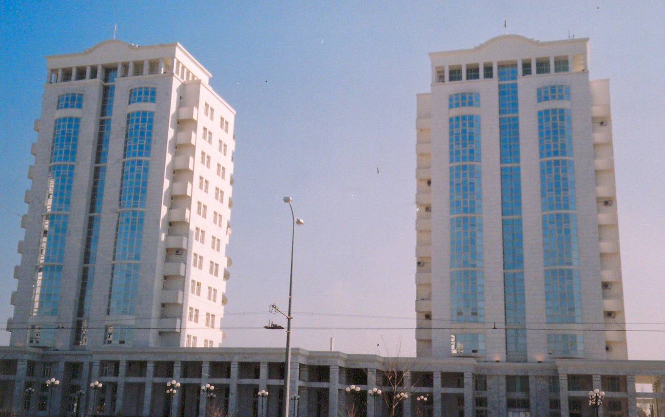 Ministry of Defence Ashgabat, Buildings
